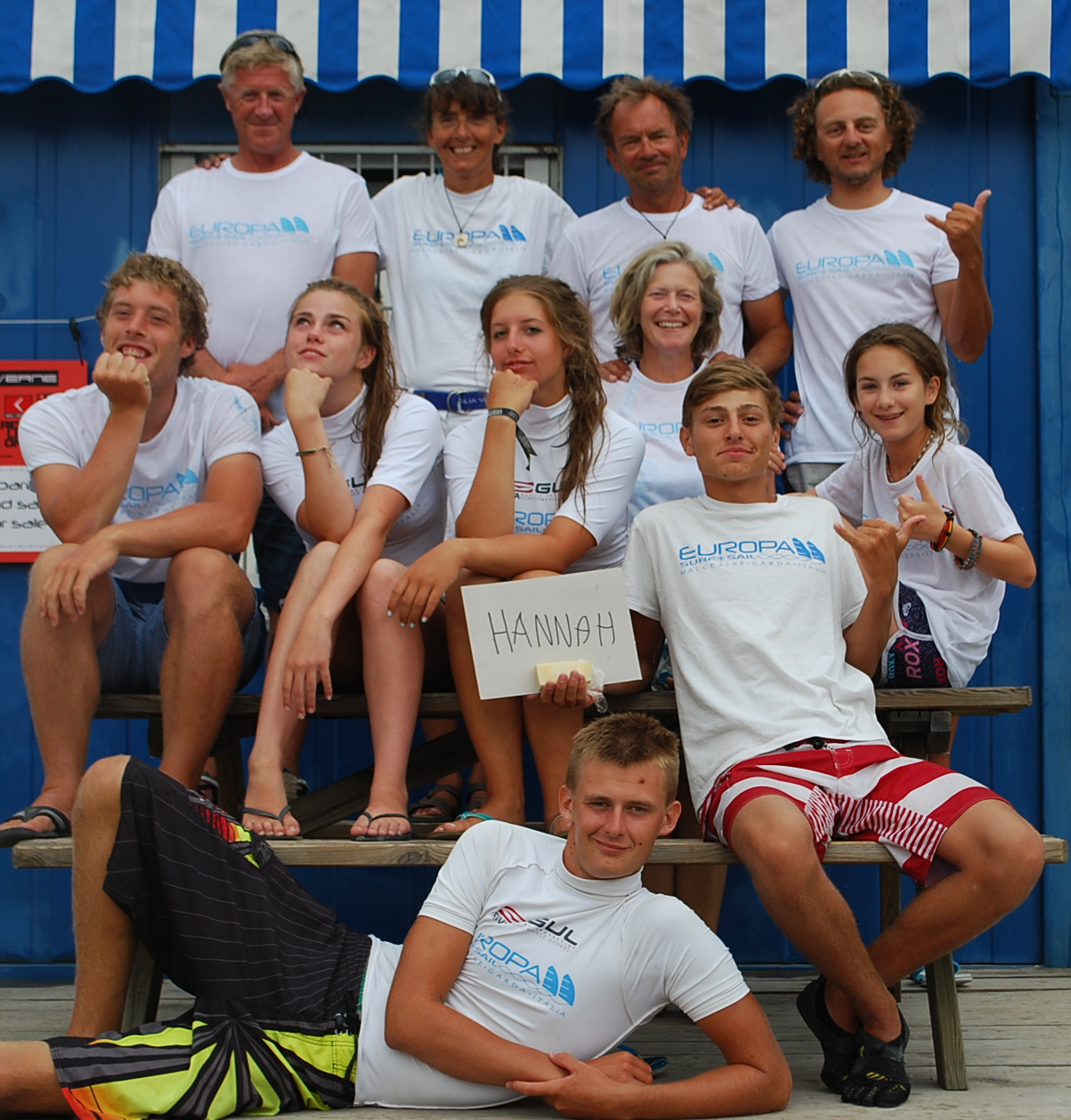 The beach team for your activity holiday