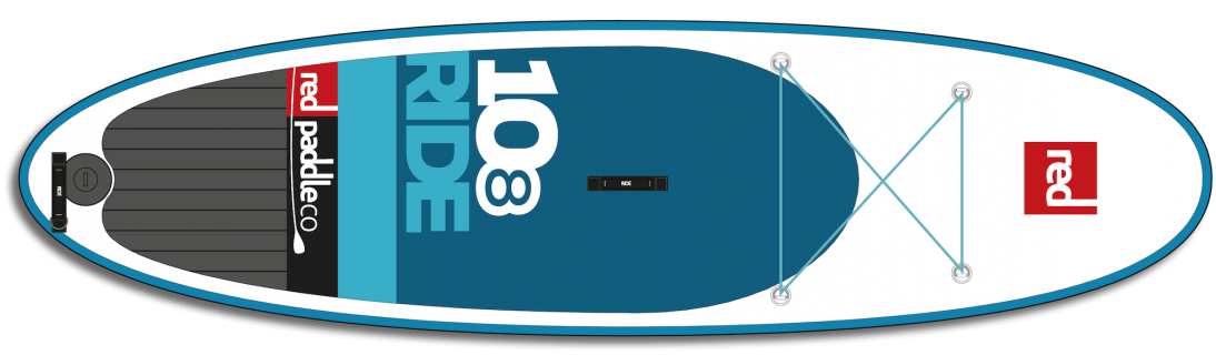 red paddle sup 10 8