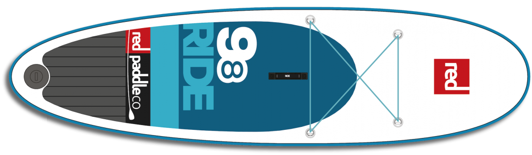 red paddle sup 9 8
