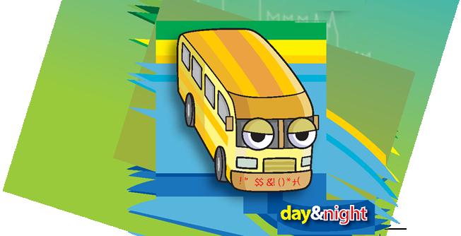Toursit bus