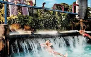 Waterslide attractions
