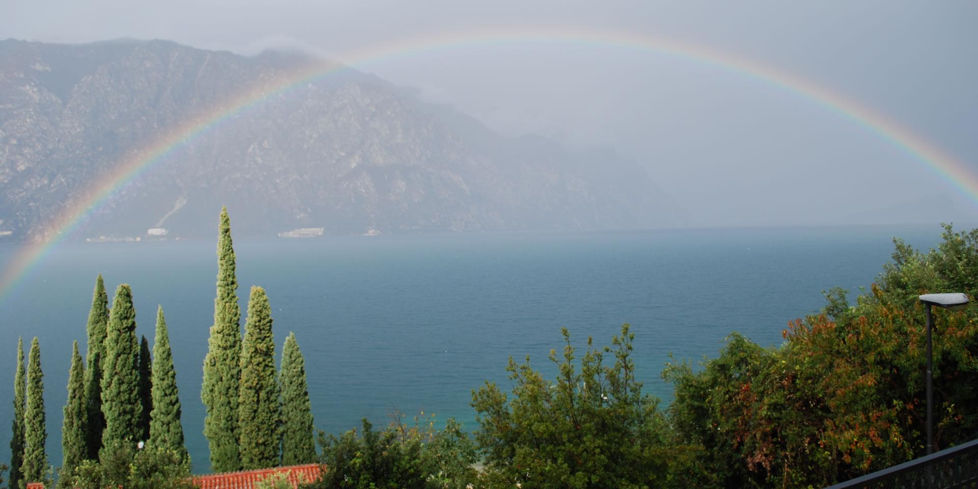 Lake Garda rainbow