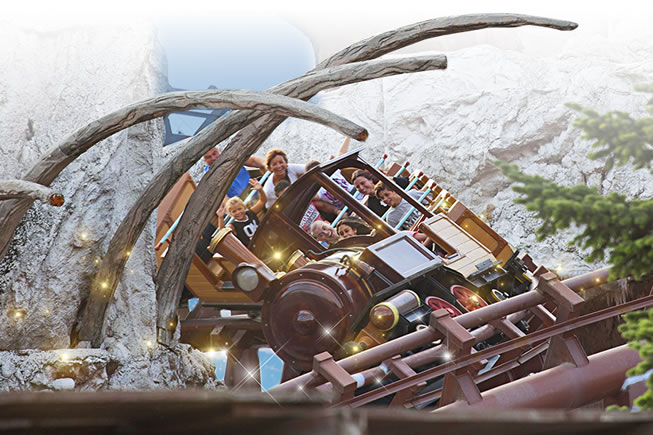 Gardaland mammut ride attractions