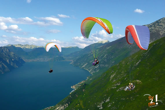 attractions include paragliding