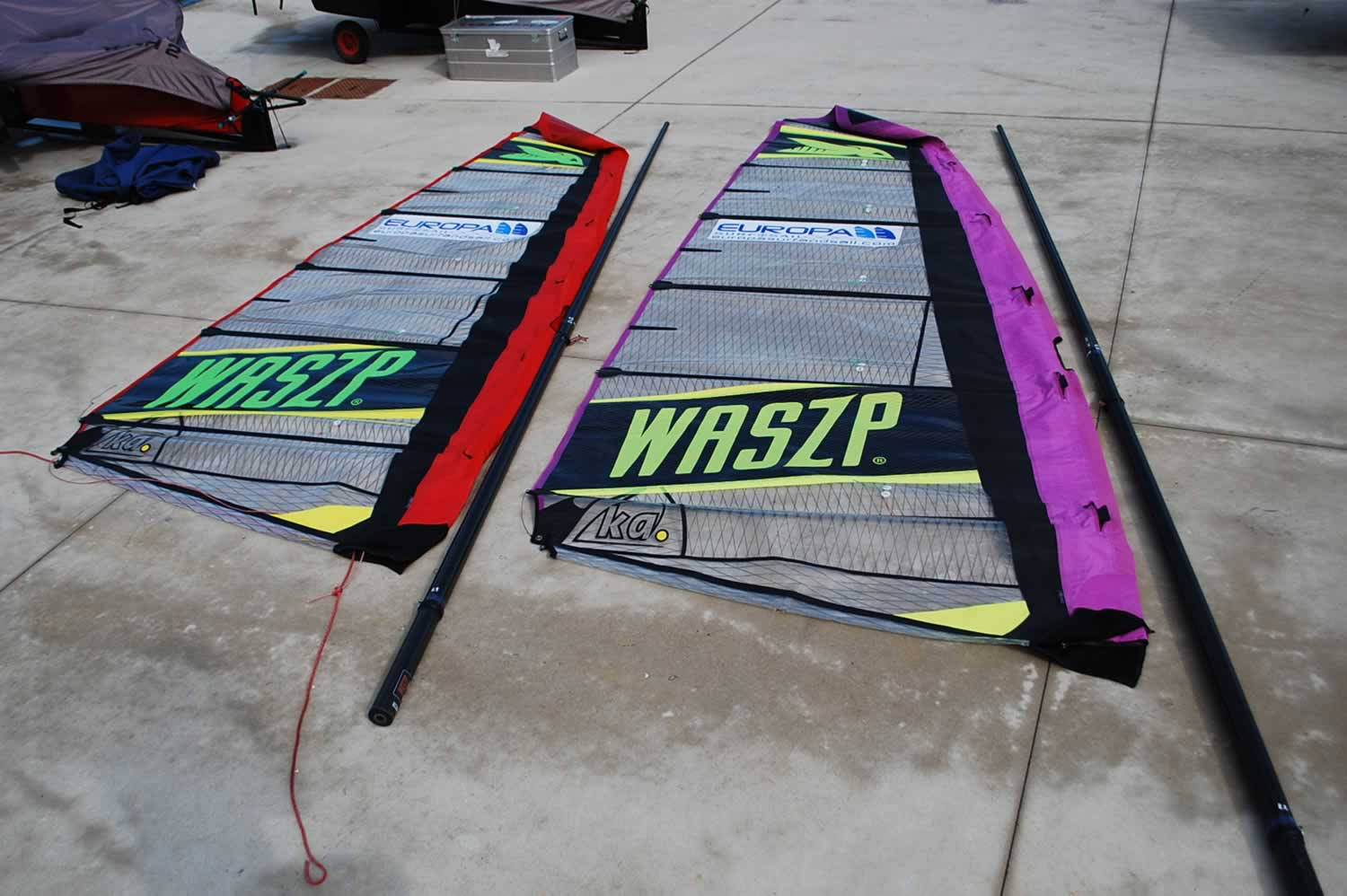 foiling waszp rig choices