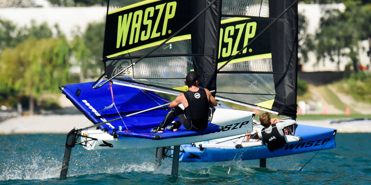 Activity holiday - foiling WASZPP