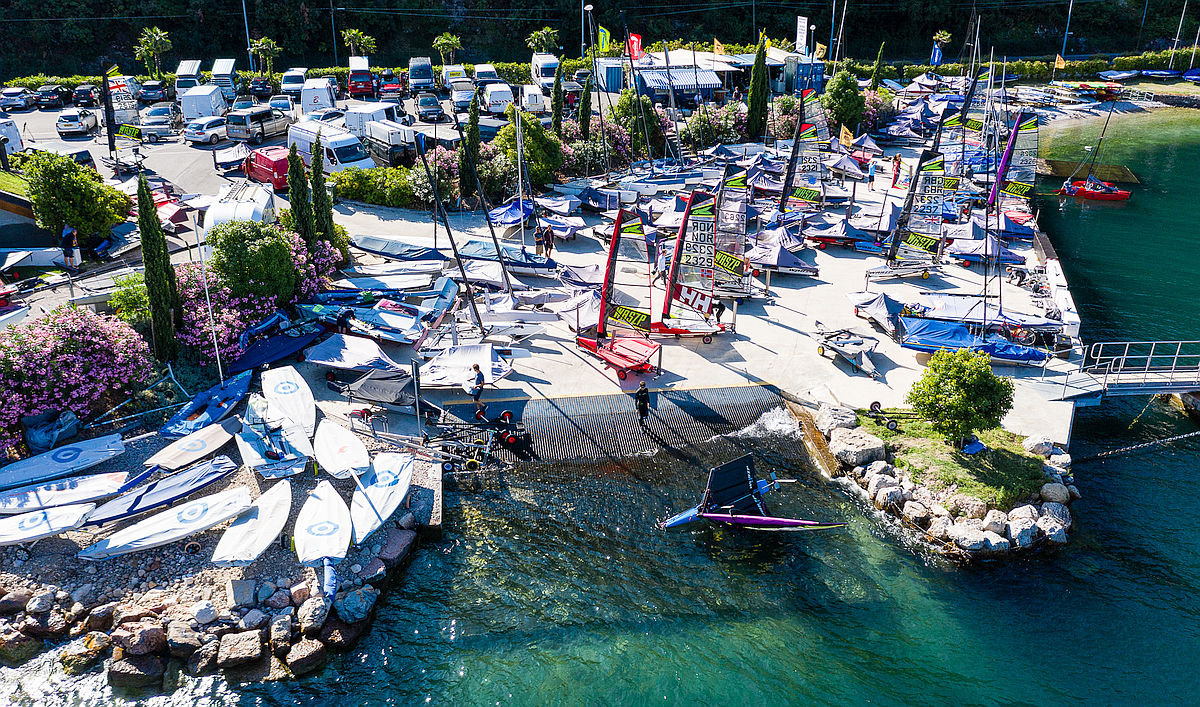 Sailing holiday combined with regatta